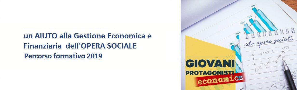 Visore per banner Giovani Protagonisti Economics senza scritte
